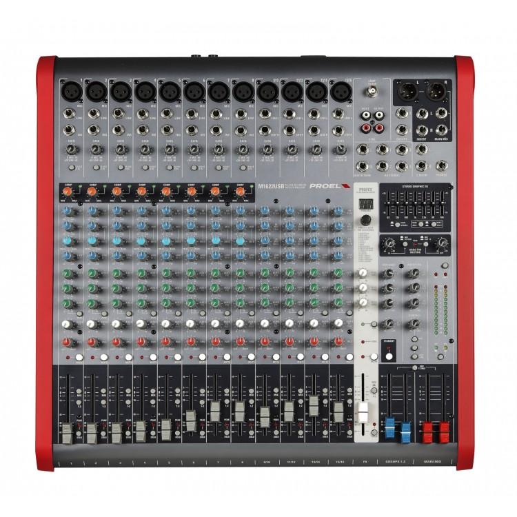 table de mixage proel m16
